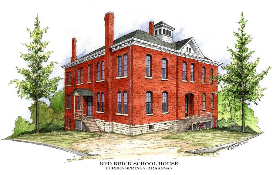 Eureka SPrings Red Brick School House ALumni
